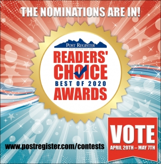 Readers' Choice Best of 2020 Awards