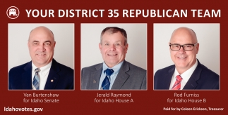 Your District 35 Republican Team