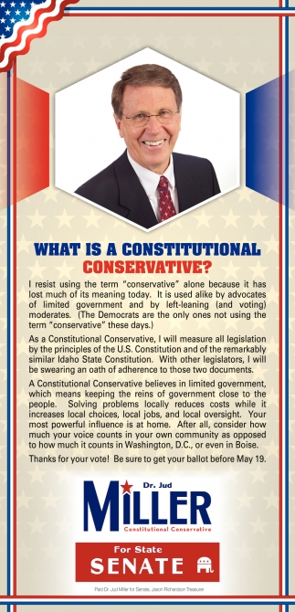 What Is a Constitutional Conservative?