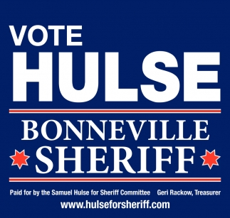 Vote Hulse Bonneville Sheriff