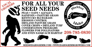 For All Your Seed Needs