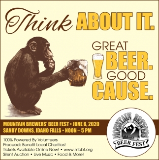 Great Beer. Good Cause.