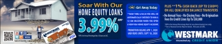 Soar With Our Home Equity Loans