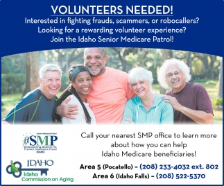 Volunteers Needed!