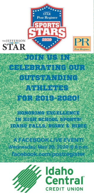 Join Us in Celebrating Our Outstanding Athletes for 2019-2020!