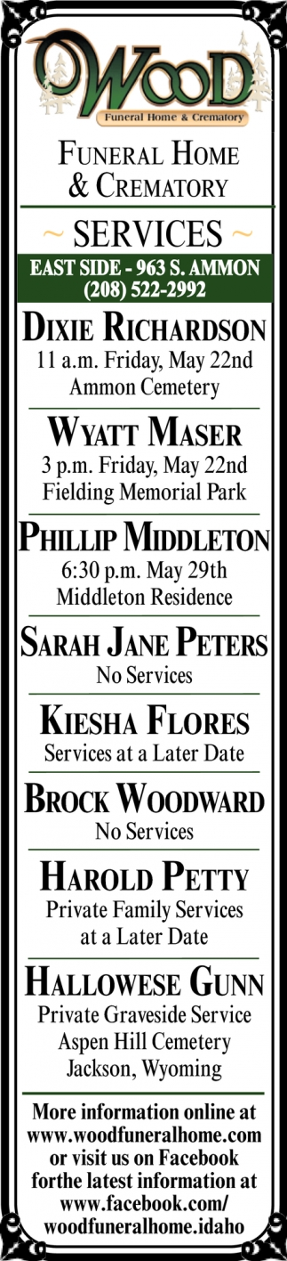Funeral Home & Crematory Services