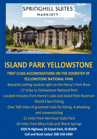 First Class Accomodations On the Doorstep of Yellowstone National Park