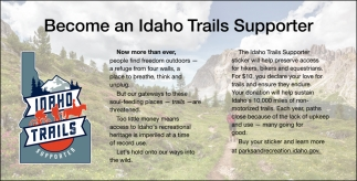 Become an Idaho Trails Supporter