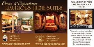 Come & Experience Luxurious Theme Suites