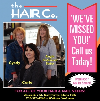 For All Of Your Hair & Nail Needs!