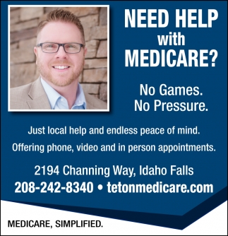 NeeHelp with Medicare?