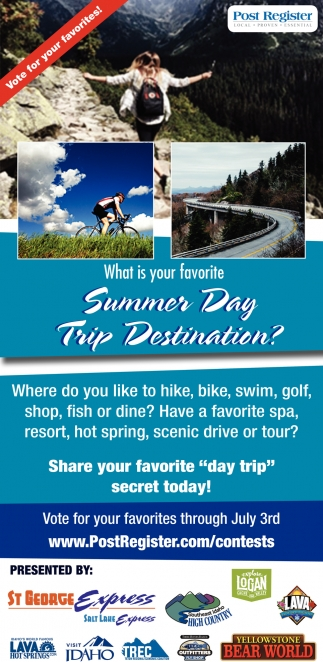 What is Your Favorite Summer Day Trip Destination?