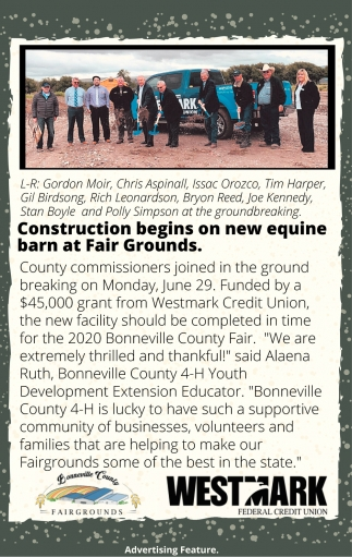 Construction Begins On New Equine Barn at Fair Grounds
