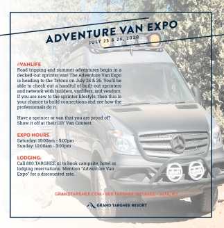 Adventure Van Expo