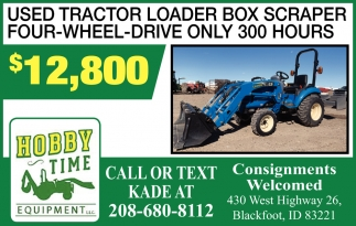 Used Tractor Loader Box Scraper
