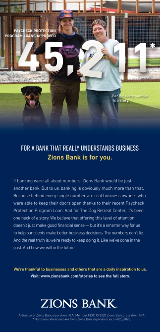 Zions Bank is for You