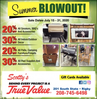 Summer Blowout!