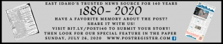 East Idaho's TRusted News Source for 140 Years
