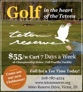 Golf In The Heart of The Tetons