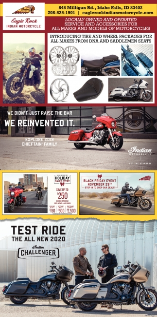 Service and accessories for all makes and models of motorcycles