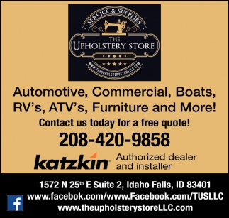 Automotive, Commercial, Boats, RV's, ATV's, Furniture