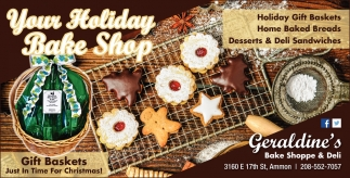 Your Holiday Bake Shop