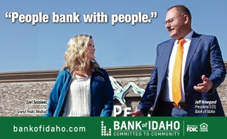 People bank with people