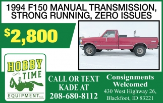 1994 F150 Manual Transmission, Strong Running, Zero Issues