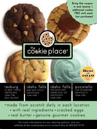 Fresh, gourmet cookies and cookie delivery