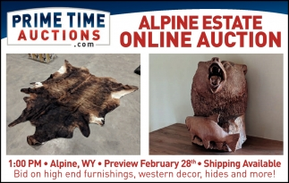 Alpine Estate Online Auction