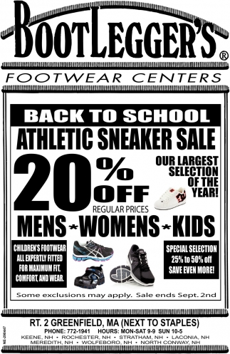 Back to School Athletic Sneaker Sale