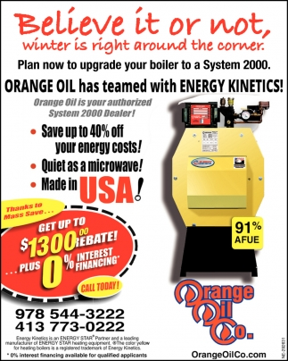 Orange Oil has Teamed with Energy Kinetics