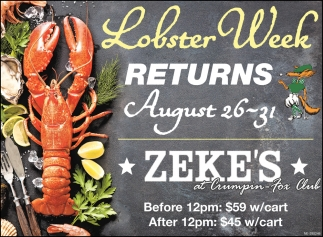 Lobster Week