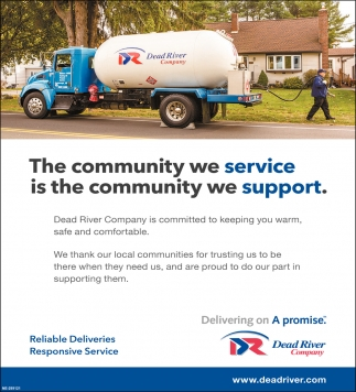 The Community We Service is the Community We Support.
