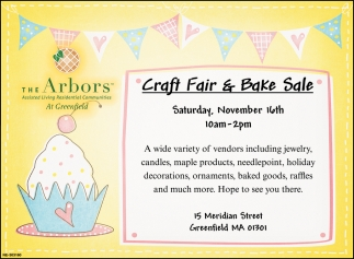 Craft Fair & Bake Sale