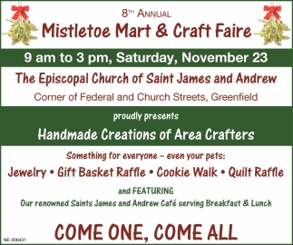 Mistletoe Mart & Craft Faire