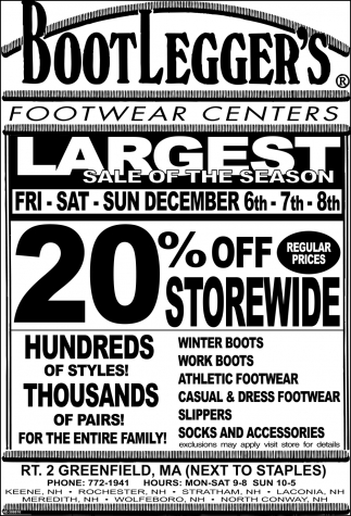 Largest Sale of the Season
