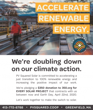 We're Doubling Down On Our Climate Action