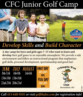 CFC Junior Golf Camp