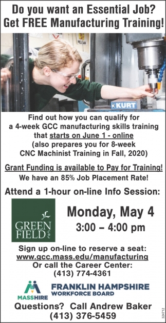 Free Manufacturing Training