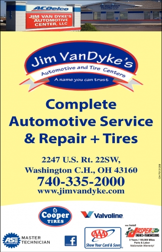Complete Automotive Service & Repair + Tires