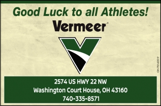 Good Luck to all Athletes!