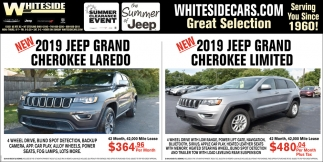 2019 Jeep Grand Cherokee Laredo | 2019 Jeep Grand Cherokee Limited