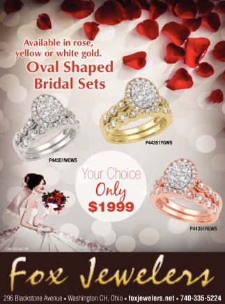 Oval Shaped Bridal Sets