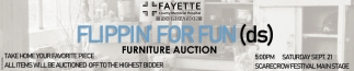 Flippin for Fund (ds) - Furniture Auction