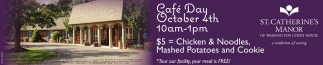 Cafe Day - October 4th