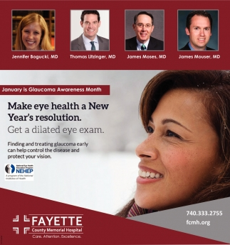 Make eye health a New Year's resolution