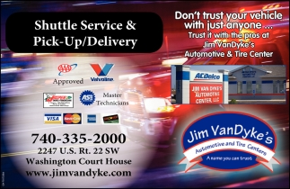 Shuttle Service & Pick-Up Delivery