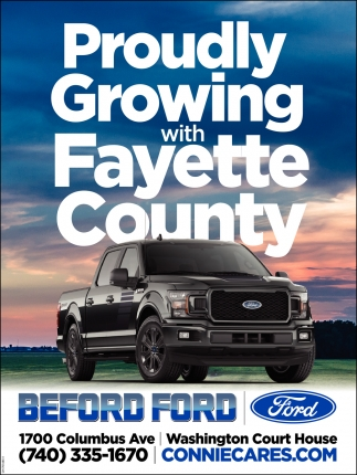 Proudly Growing with Fayette County