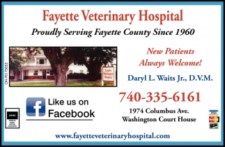 Proudly Serving Fayette County Since 1960